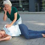 Erste Hilfe bei einem Schlaganfall